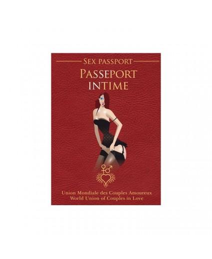 Passeport Intime - Sex Passport - Français/Anglais - Vices & Délices
