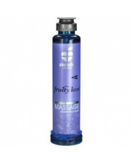 Huile de Massage Cassis Blueberry - 200ml - Swede