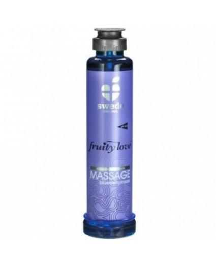 Huile de Massage Cassis Blueberry - 200ml - Swede