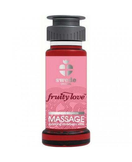 Huile de Massage Fraise - 50ml - Swede