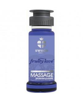 Huile de Massage Cassis Blueberry - 50ml - Swede
