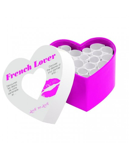 Jeu French Lover Mini Corps à Coeur - Love to Love