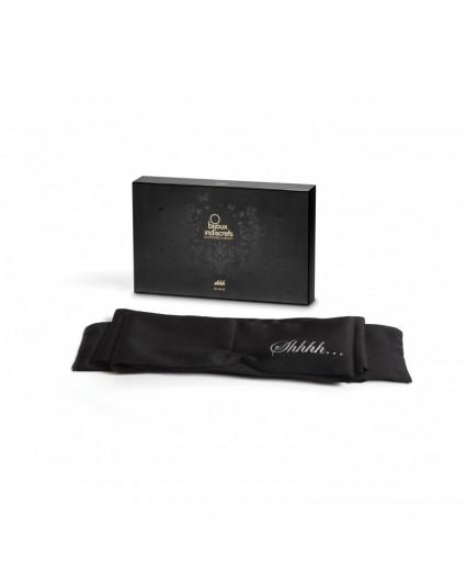 Masque Bandeau Noir - Bijoux Indiscrets
