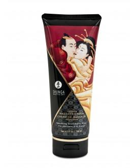 Crème Massage Délectable Fraise - Shunga