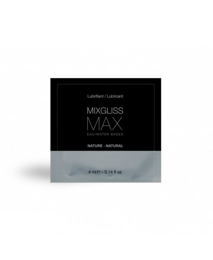 DOSETTE EAU - MAX ANAL 4 ML - MIXGLISS