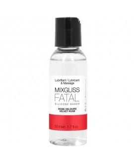 Lubrifiant 2 en 1 Silicone Fatal - Rose Velours 50 ML - MIXGLISS