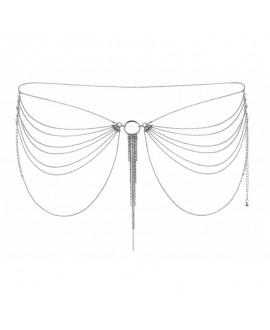 Chaîne de Taille Métallique Argent - Bijoux Indiscrets