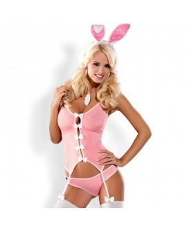 Costume Funny Rose Bunny - Obsessive