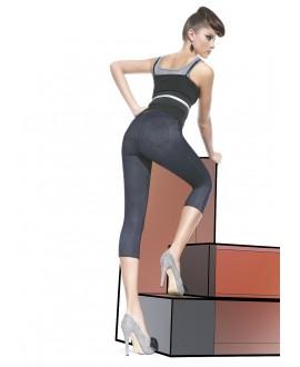 Legging Version Courte  et  Jean - Bas Bleu