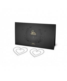 Nipples Mimi Heart - Coeur Argent - Bijoux Indiscrets