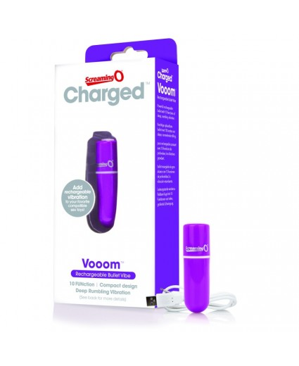Stimulateur Rechargeable Vibrant Violet - Screaming O