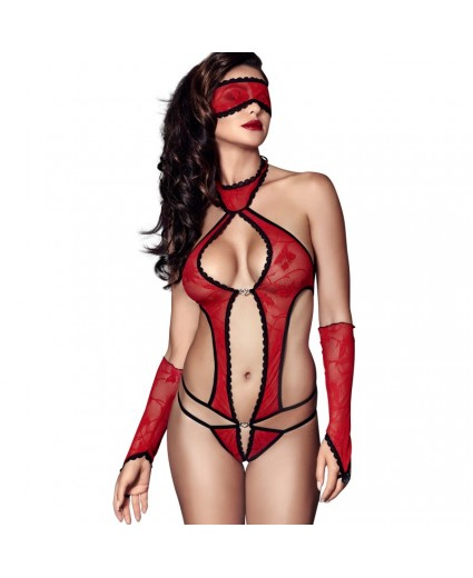 Body Piment Rouge et Noir - Anaïs
