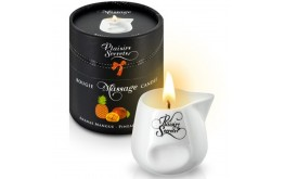 Bougie de Massage Ananas & Mangue 80 ml - Plaisirs Secrets