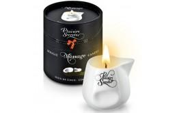 Bougie de Massage Noix de Coco 80ml - Plaisirs Secrets