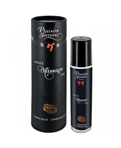 Huile de Massage Chocolat 59 ml - Plaisirs Secrets