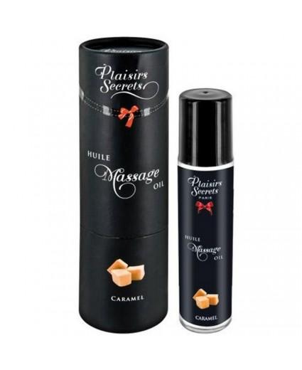 Huile de Massage Caramel 59 ml - Plaisirs Secrets