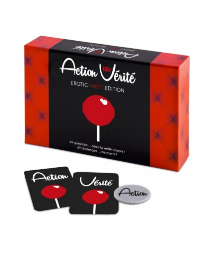 Jeu ACTION OU VERITE EROTIC PARTY - FR - Tease & Please
