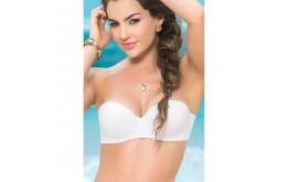 Haut Bikini Coqué Avec ou Sans Bretelles Blanc - Mapalé