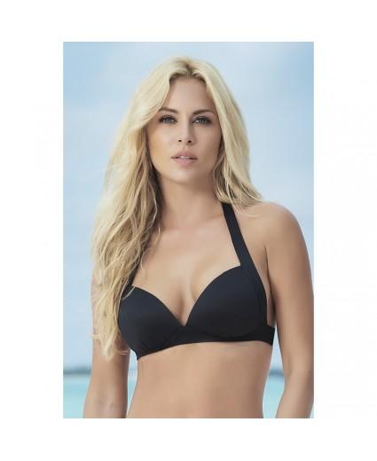 Haut Bikini Coqué Sexy Noir Confort - Mapalé