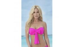 Haut Bikini Multi-Positions Push-Up Rose - Mapalé