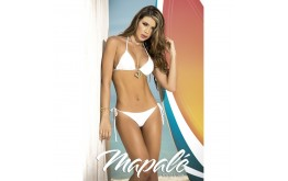 Bikini String Blanc Eblouissant - Mapalé