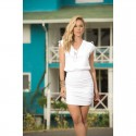 Robe Glamour Blanche - Mapalé