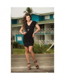 Robe Glamour Noire - Mapalé