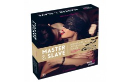 Jeu MASTER AND SLAVE PREMIUM - KIT BDSM - Tease & Please