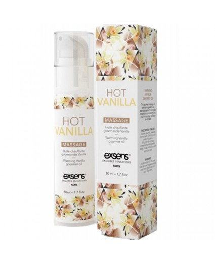 Massage Hot Gourmand Vanille - 50 ml - EXSENS