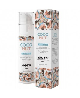 Massage Hot Gourmand Coco - 50 ml - EXSENS