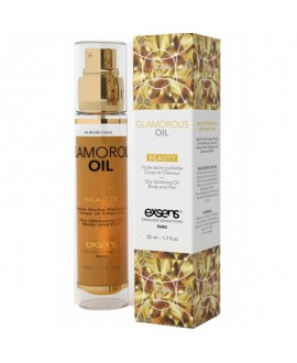 Huile Sèche Pailletée Glam Oil - 50 ml - EXSENS