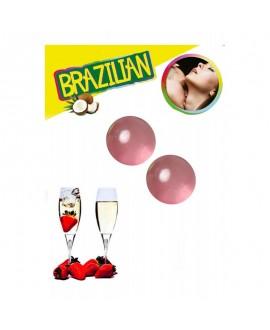 Boules Brésiliennes Strawberry & Champagne - Brazilian Balls