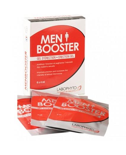 Dosettes Hommes Menbooster gel d'érection 6 dosettes - Labophyto