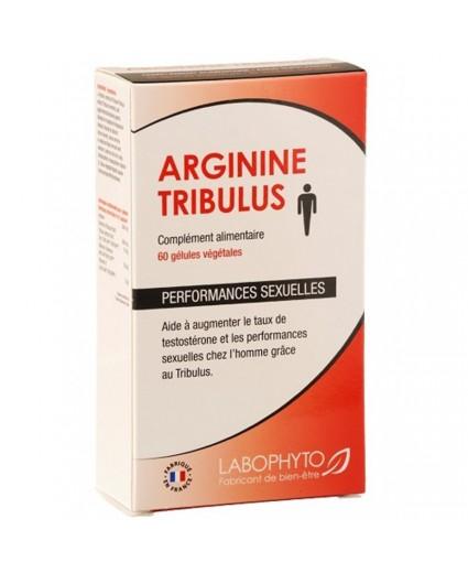 Gélules Homme Arginine Tribulus 60 gélules - Labophyto