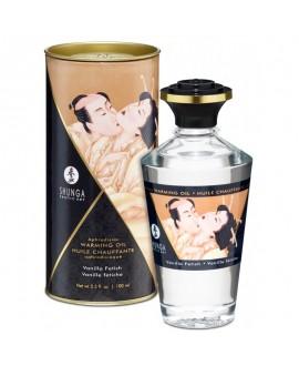 Huile Chauffante Aphrodisiaque Vanille Fétish 100 ml - Shunga