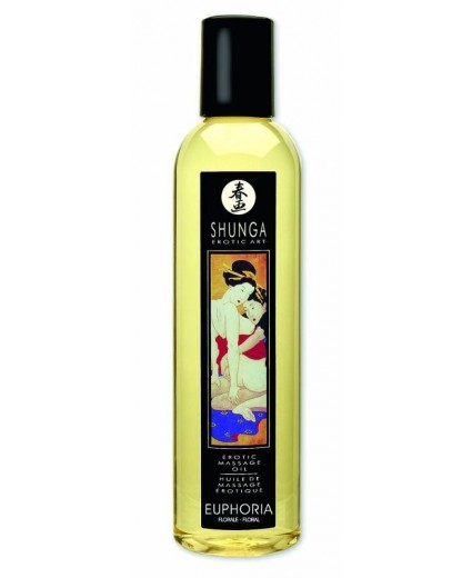 Huile Massage Euphoria Floral - Shunga