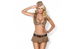Costume Fantasme Jolie Soldat - Obsessive