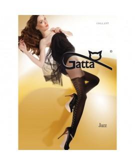 Collant Effet Laçage Corset en Couture - Gatta