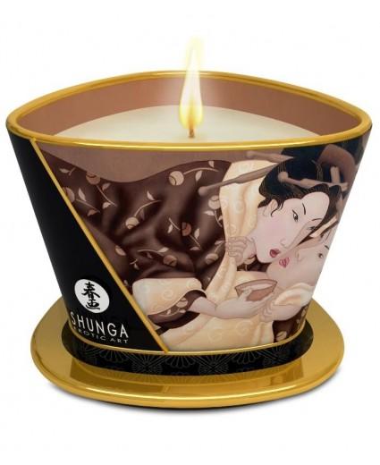 Bougie Massage Chocolat Enivrant - Shunga
