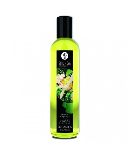 Huile de Massage Organique - Thé Vert - Shunga