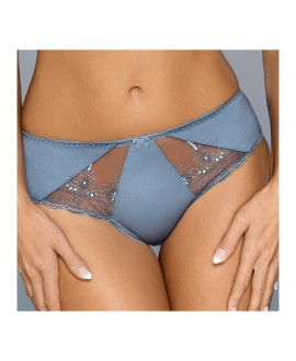 Culotte Dentelle Bleu Jeans - Gaia