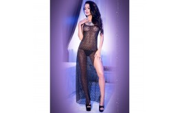 Nuisette Dentelle Transparence Craquante & Fente Sexy - Chilirose