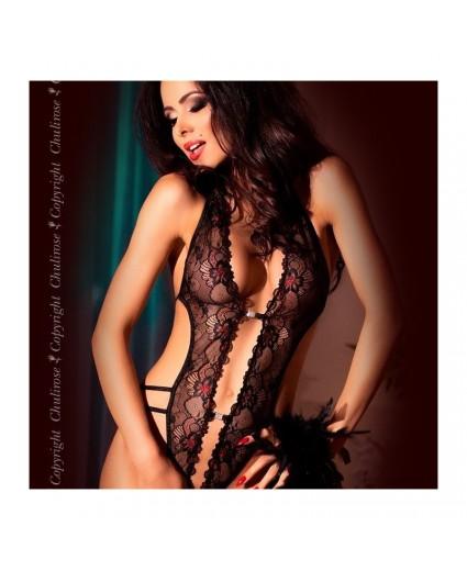 Body Sensualité en Rouge et Noir & Strappy - Chilirose