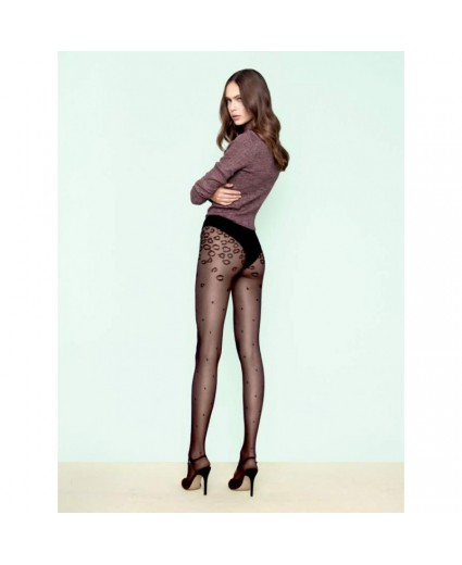 Collant Catmint Black - 30 Deniers - Fiore