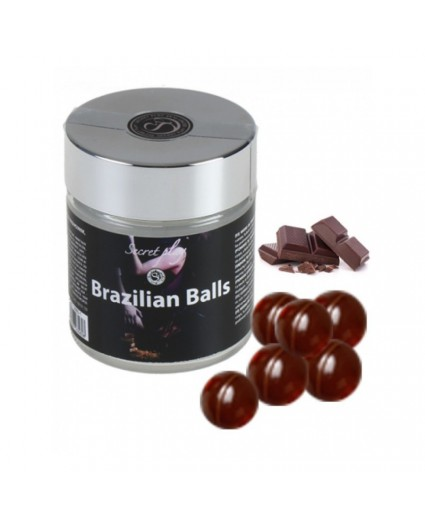 6 Boules Brésiliennes Saveur Chocolat - Brazilian Balls
