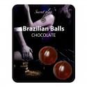 Boules Brésiliennes Saveur Chocolat - Brazilian Balls