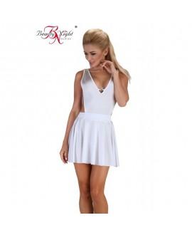 Robe Délice Blanc Sexy - Beauty Night