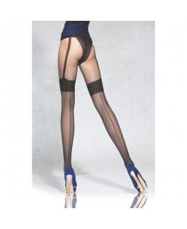 Collant Culotte Bas Porte -Jarretelles Sexy - Fiore