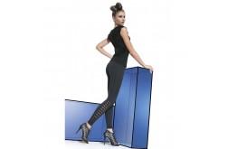 Legging Fashion Ajours - Bas Bleu