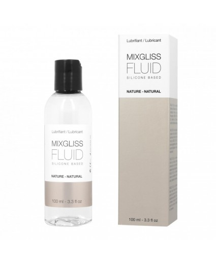 Lubrifiant Fluid Nature Silicone 100ML - Mixgliss